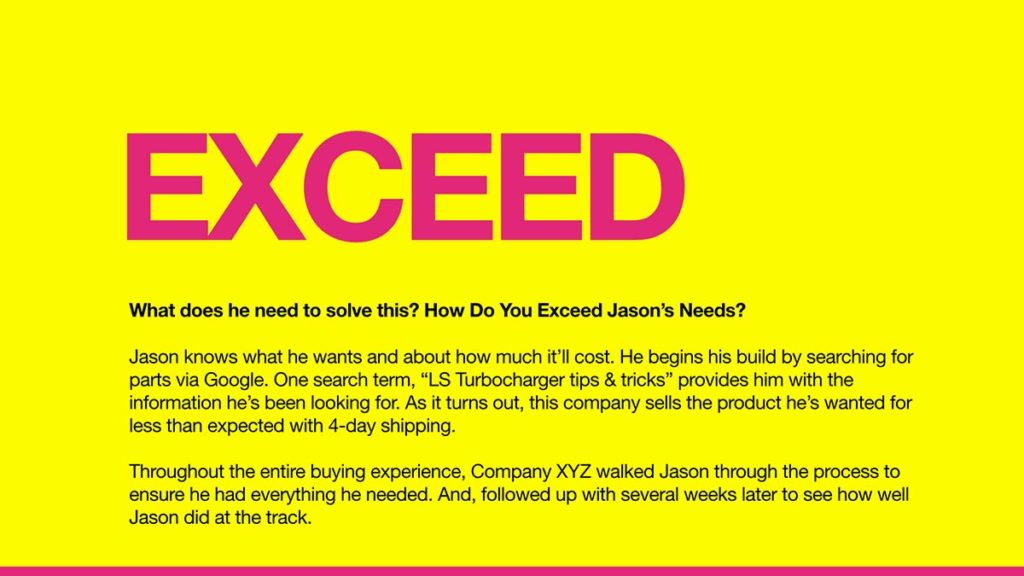 Two marketing approaches for Auto Aftermarket brands - exceed customer need